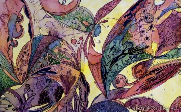 """Купить для интерьера на стену Постер """"Сказочный лес"""" Санкт-Петербург"""