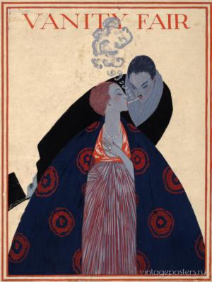 """Купить для интерьера на стену Постер """"Vanity Fair. Двое"""" США 1919"""