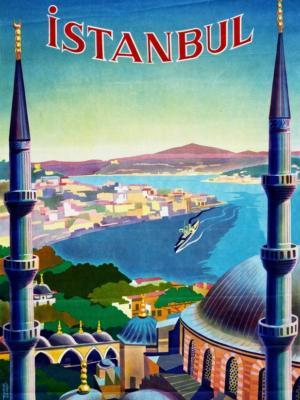 """Купить для интерьера на стену Постер """"Стамбул"""" Турция 1939"""