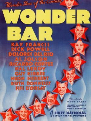 """Купить для интерьера на стену Постер к/ф """"Wonder Bar"""" США 1934"""