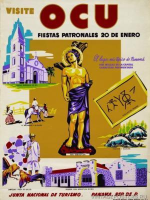 """Купить для интерьера на стену Постер """"Посетите Панаму"""" Панама 1940"""