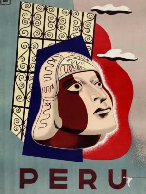 """Купить для интерьера на стену Постер """"Перу"""" Лима 1930"""