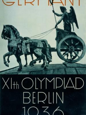 """Купить для интерьера на стену Постер """"XI Берлинская Олимпиада"""" 1936"""