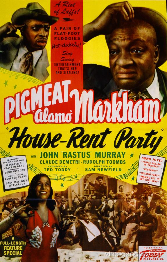 """Купить для интерьера на стену Постер к/ф """"House-Rent Paty"""" США 1946"""
