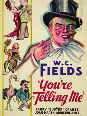 """Купить для интерьера на стену Постер к/ф """"Ты говоришь мне"""" США 1934"""