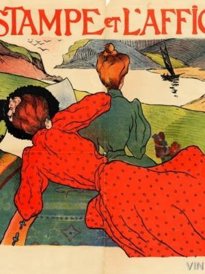"""Купить для интерьера на стену Постер """"Эстамп и плакат"""" Франция 1898"""