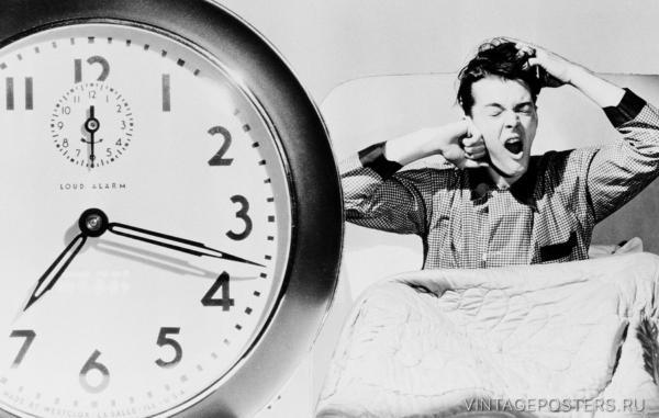 """Купить для интерьера на стену Постер """"Доброе утро"""" США 1930"""