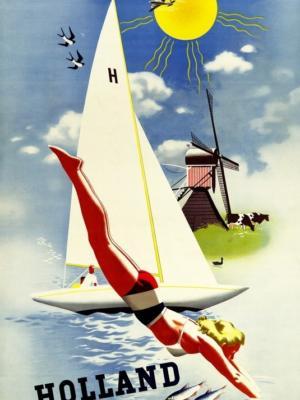 """Купить для интерьера на стену Постер """"Голландия"""" 1948"""