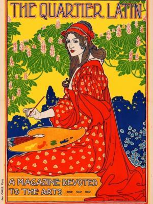 """Купить для интерьера на стену Постер """"Журнал искусств"""" Париж 1894"""
