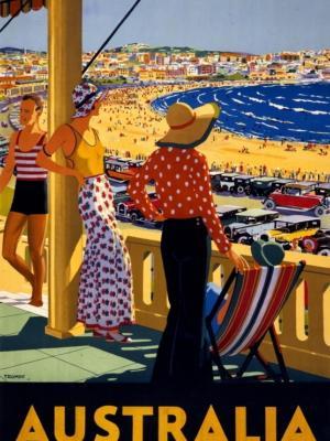 """Купить для интерьера на стену Постер """"Австралия"""" 1930"""