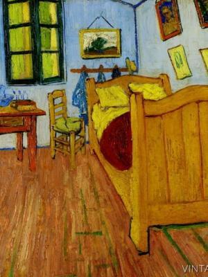 """Купить для интерьера на стену Постер """"Винсент Ван Гог. Спальня в Арле"""" 1888"""