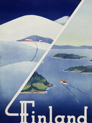 """Купить для интерьера на стену Постер """"Финляндия"""" 1948"""