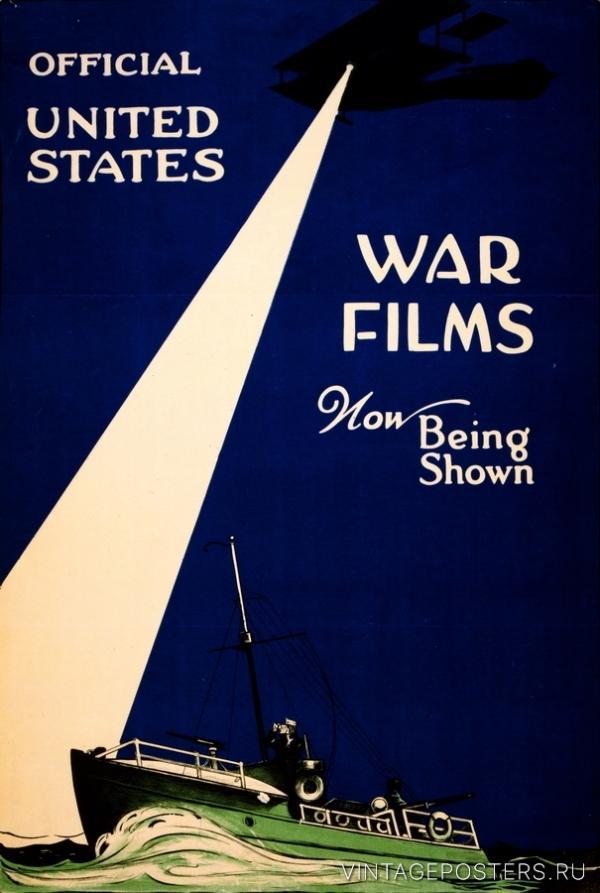 """Купить для интерьера на стену Постер """"Современные фильмы о войне"""" Нью-Йорк 1917"""