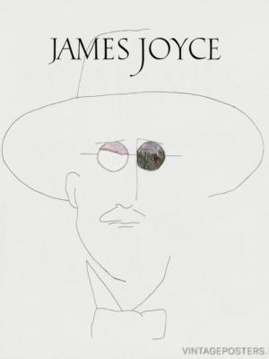 """Купить для интерьера на стену Постер """"Джеймс Джойс. Прозрения"""""""