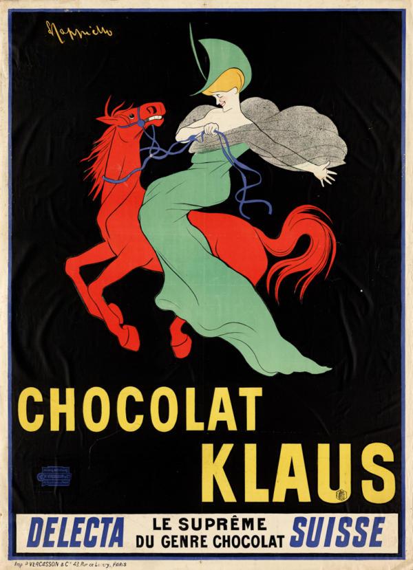 """Купить для интерьера на стену Постер """"Шоколад Клаус"""" Франция 1903"""