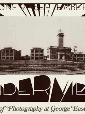 """Купить для интерьера на стену Постер """"Выставка Международного института фотографии: Панорамный взгляд"""" США 1972"""