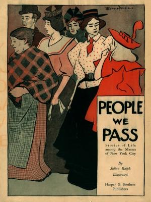 """Купить для интерьера на стену Постер """"Люди, мимо которых мы проходим. Истории из жизни"""" США 1903"""