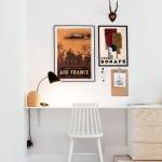 """Постер для интерьера рабочего кабинета: """"Air France"""" и """"Pepa Bonafe"""""""
