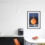 """Постер для интерьера офисной столовой: """"Aperitivo Rossi"""""""
