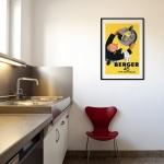 """Постер для интерьера офисной столовой: """"Berger 45"""""""
