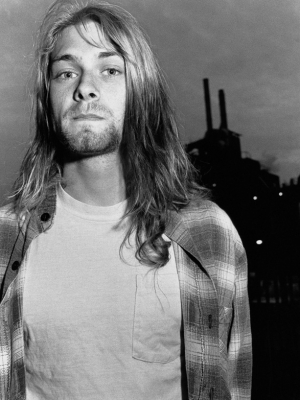 """Винтажный Ретро Постер """"Курт Кобейн, «Nirvana» """" США 1991 для интерьера купить"""
