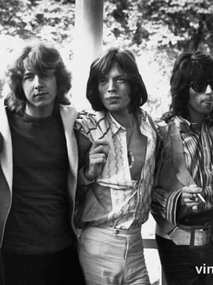 """Винтажный Ретро Постер """"The Rolling Stones"""" США 1969 для интерьера купить"""