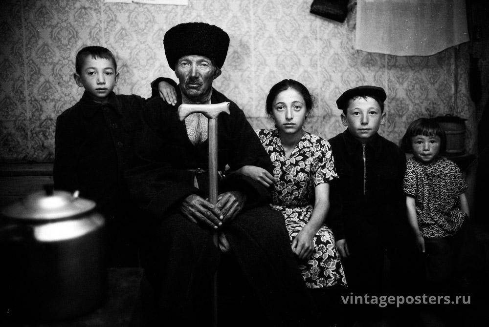 Семья. Грузия. 1956г.