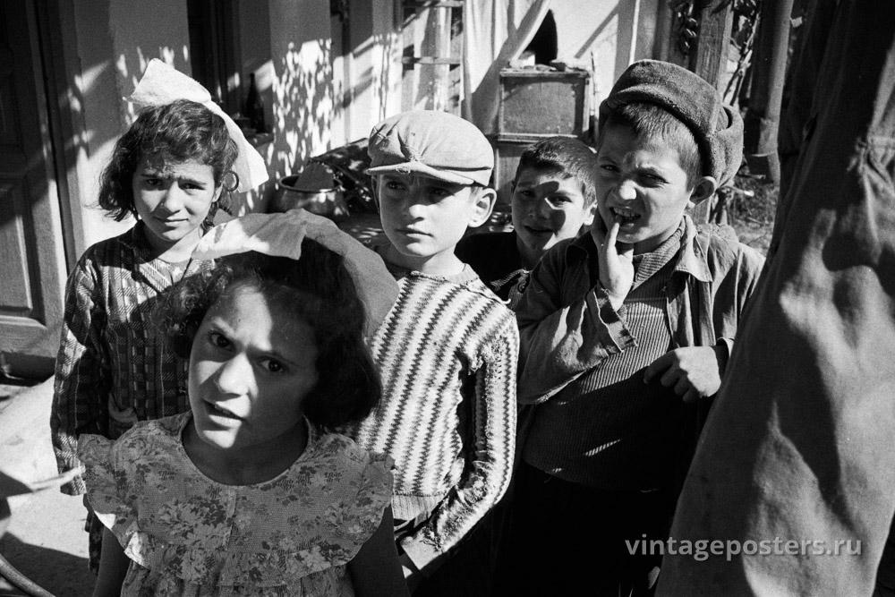 Дети. Грузия. 1956г.
