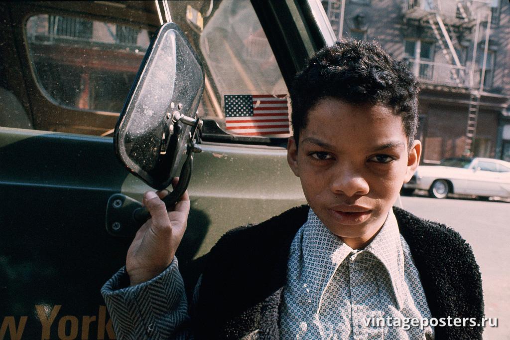 Мальчик, Моррисания, Южный Бронкс, 1970г.