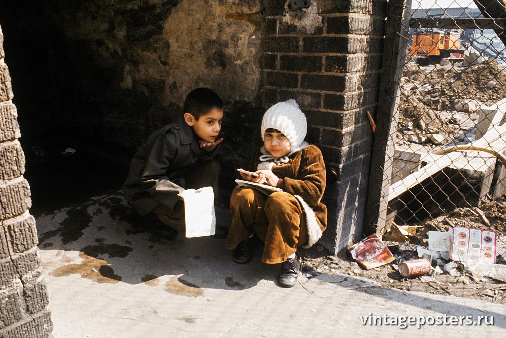 Дети в Южном Бронксе, 1971г.