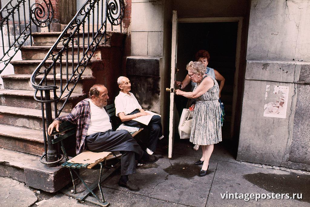 Нижний Ист-Сайд, Манхэттен, 1970г.