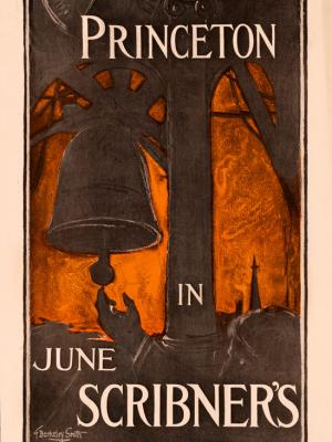"""Винтажный Ретро Постер """"«Принстон» Джеймса Александра"""" США 1896 для интерьера купить"""