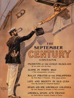 """Винтажный Ретро Постер """"Журнал «Century». Сентябрь"""" США 1898 для интерьера купить"""