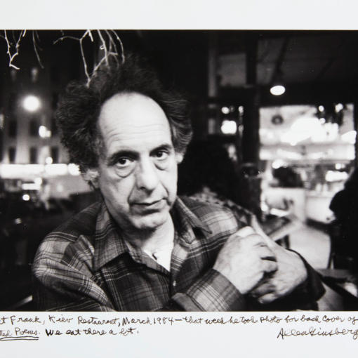 Аллен Гинсберг, Роберт Франк, 1984 год.