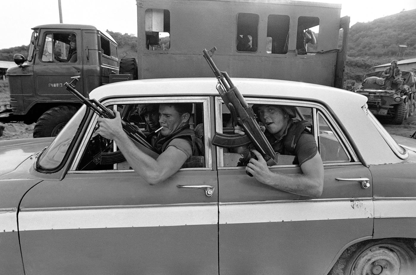 Американские рейнджеры у аэропорта Пойнт-Салинас, 1983 год