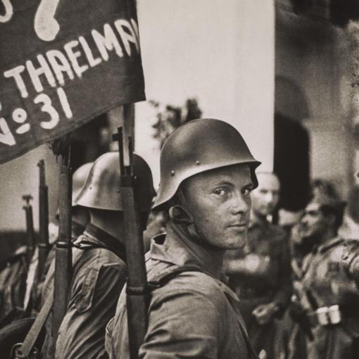 Немцы-антифашисты в гражданской войне в Испании, 1936 год