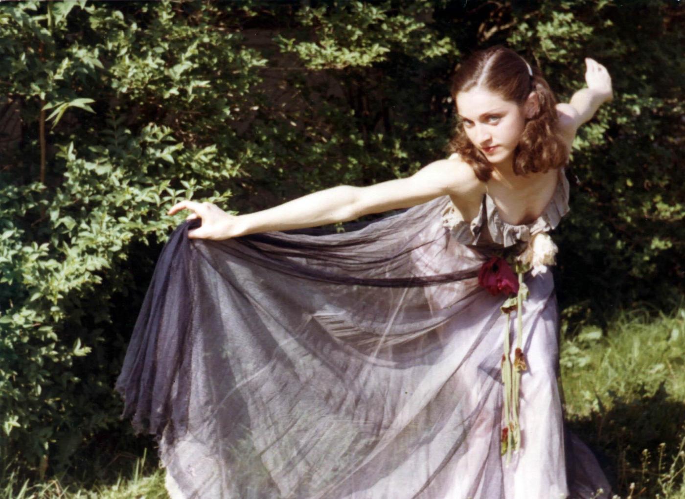 Мадонна, фото из выпускного альбома, 1973 год