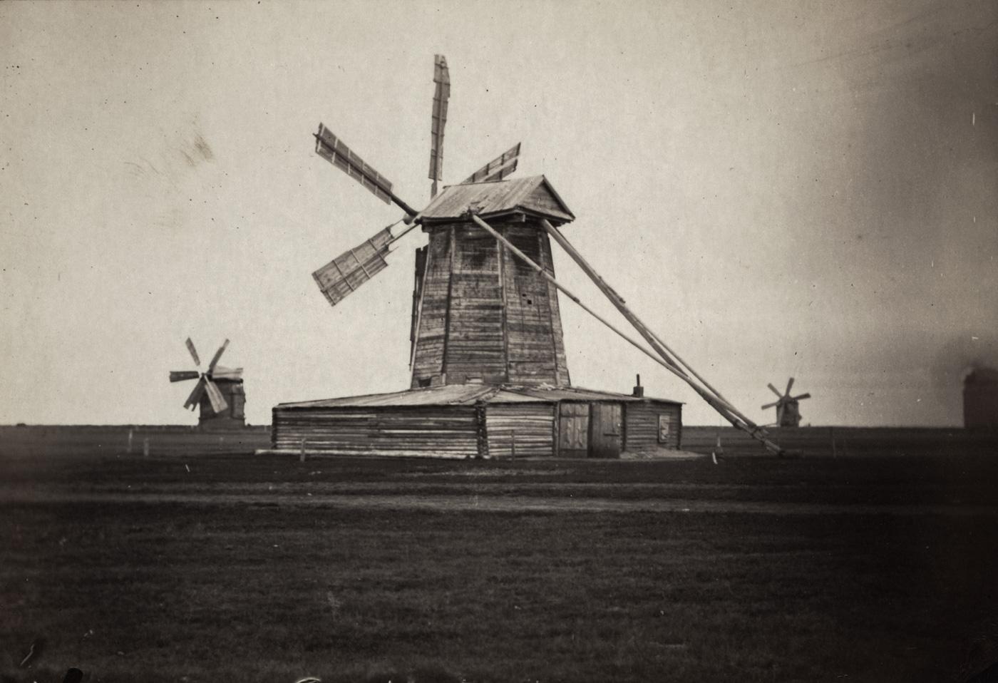 Мельницы в окрестностях Омска, Сибирь, 1885 год
