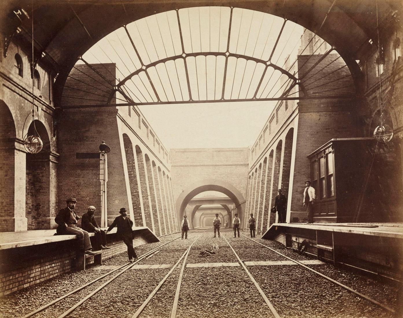 Ретро фотографии лондонского метро. Часть I