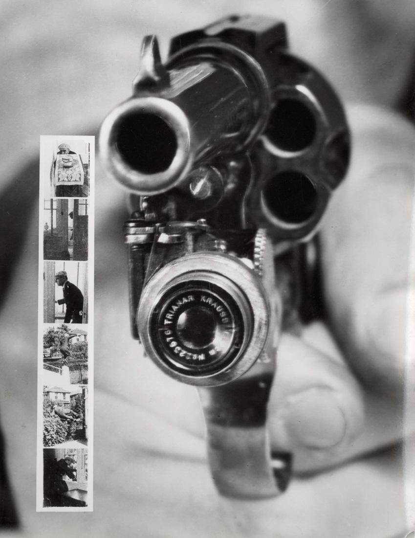 Револьвер с фотокамерой, 1930-е годы