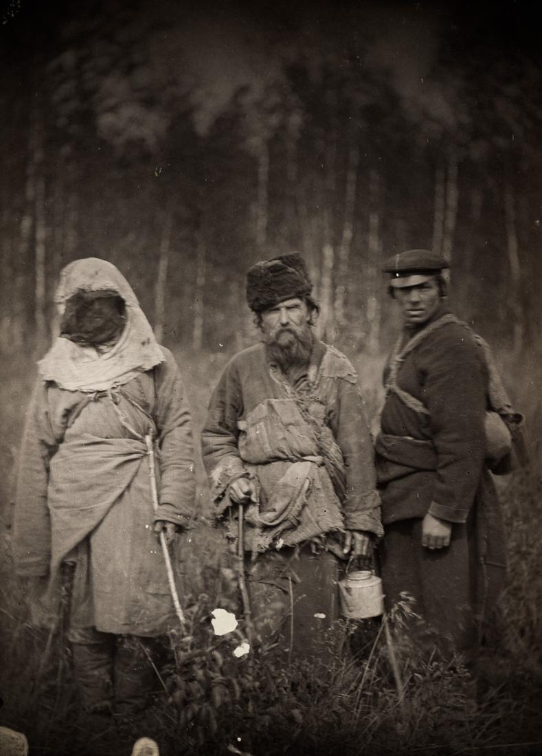 Сбежавшие каторжане, Сибирь, 1885 год