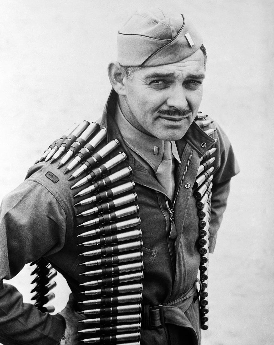 Старший лейтенант ВВС Кларк Гейбл, США, 1943 год
