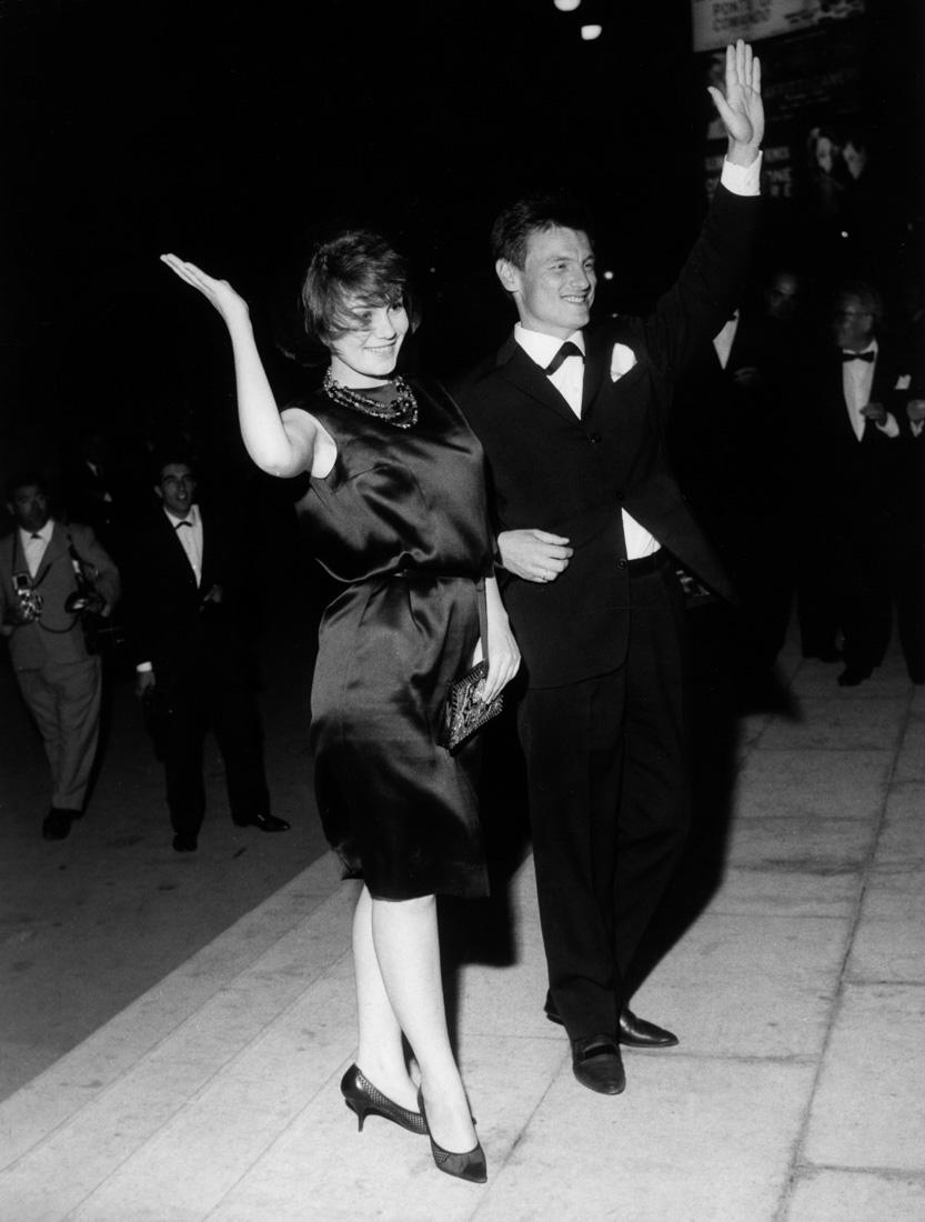 Тарковский и Малявина на Венецианском кинофестивале, 1962 год