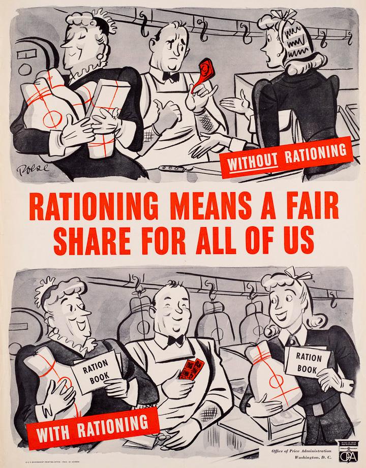 """""""Нормирование означает справедливость для всех"""", США, 1940-е"""