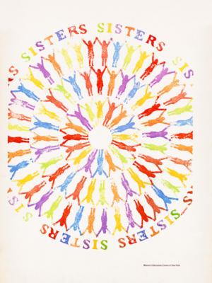 """Винтажный Ретро Постер """"Сестры"""" США 1965 для интерьера купить"""