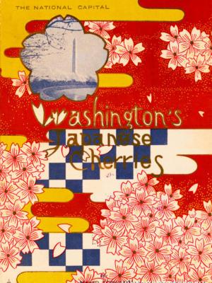 """Винтажный Ретро Постер """"Вашингтонская японская вишня"""" США 1927 для интерьера купить"""