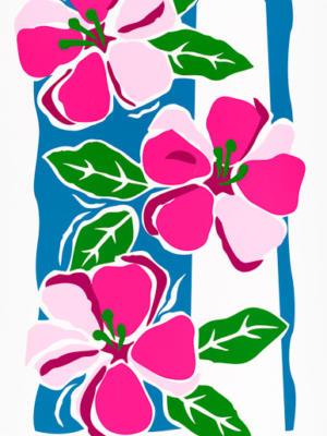 """Винтажный Ретро Постер """"Национальный фестиваль цветения сакуры"""" США 1995 для интерьера купить"""