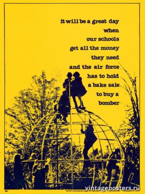 """Винтажный Ретро Постер """"Это будет отличный день..."""" США 1970 для интерьера купить"""